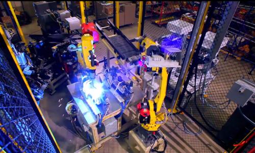 焊接机器人项目